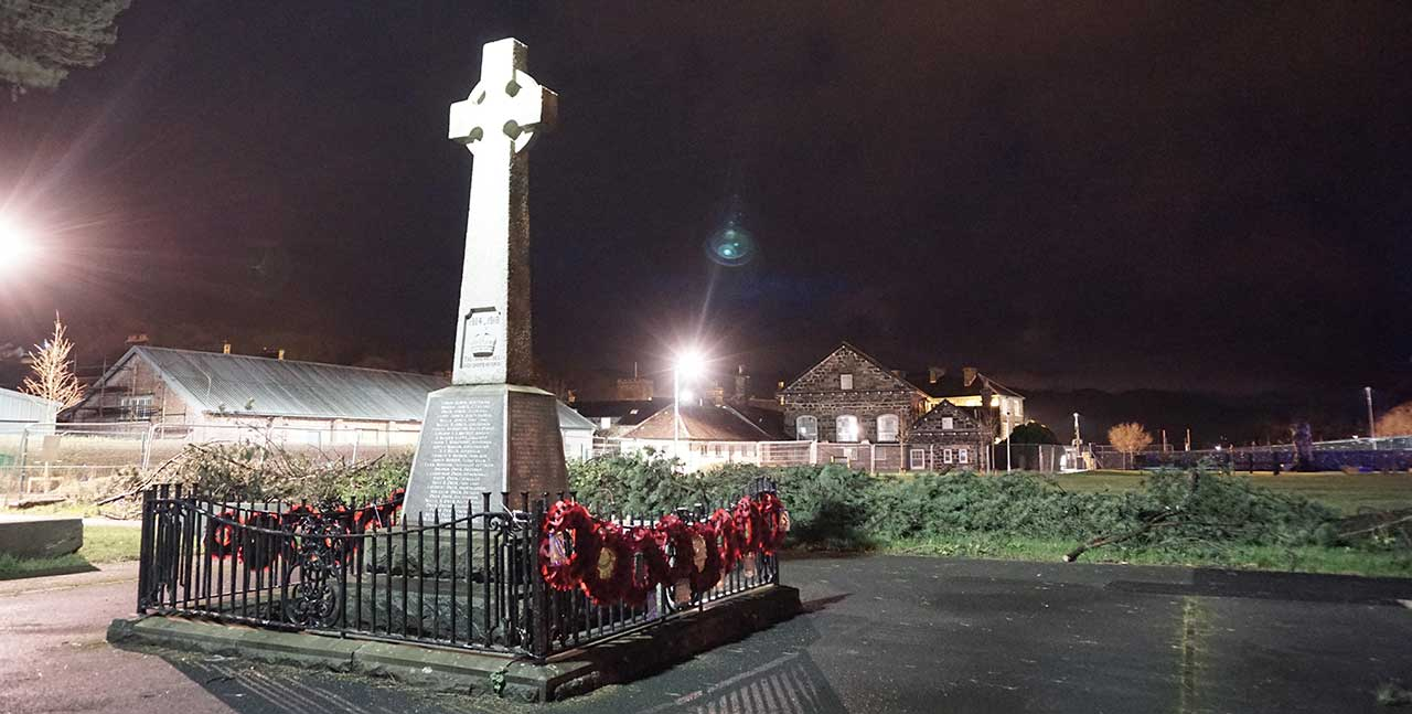 The War Memorial at Night
