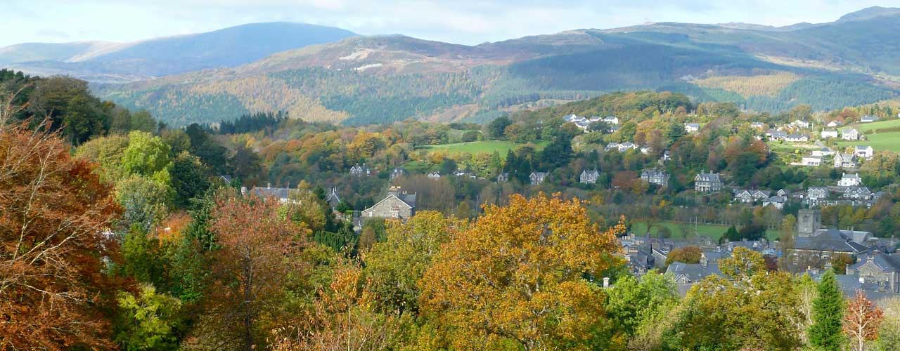 Dolgellau in the Autumn