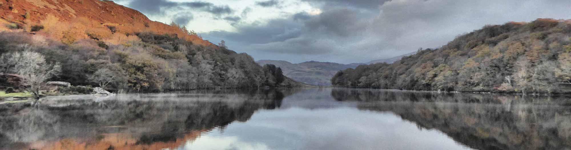 Llyn Cynwch in Autumn