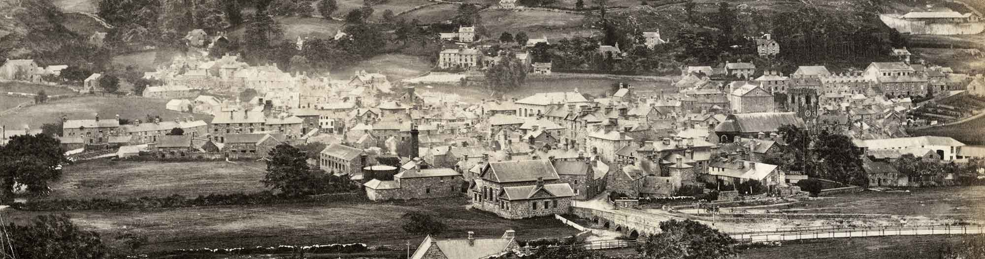 An Albumen Photo of Dolgellau from the 1870s
