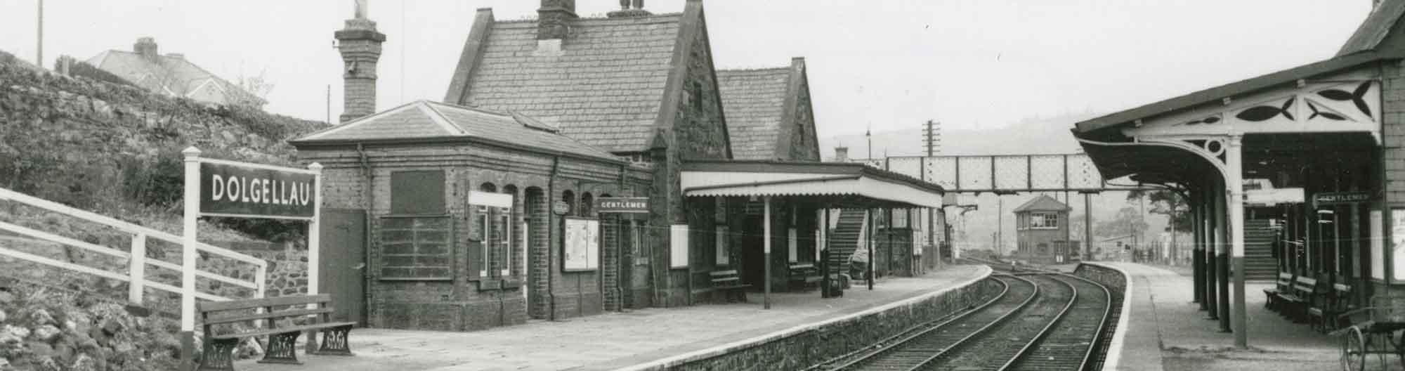 Dolgellau Station in the Early 1960s