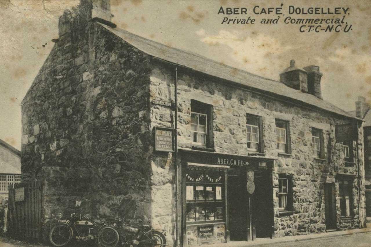 Aber Cottage Postcard