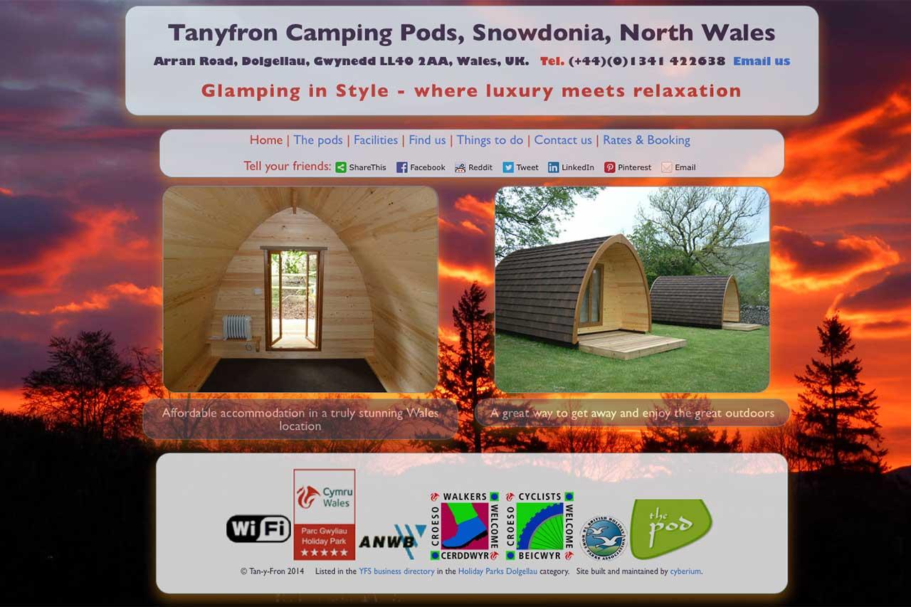 Tanyfron Camping Pods